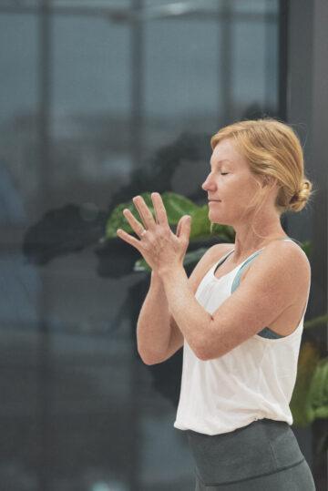 Clair Parkin Yoga Teacher